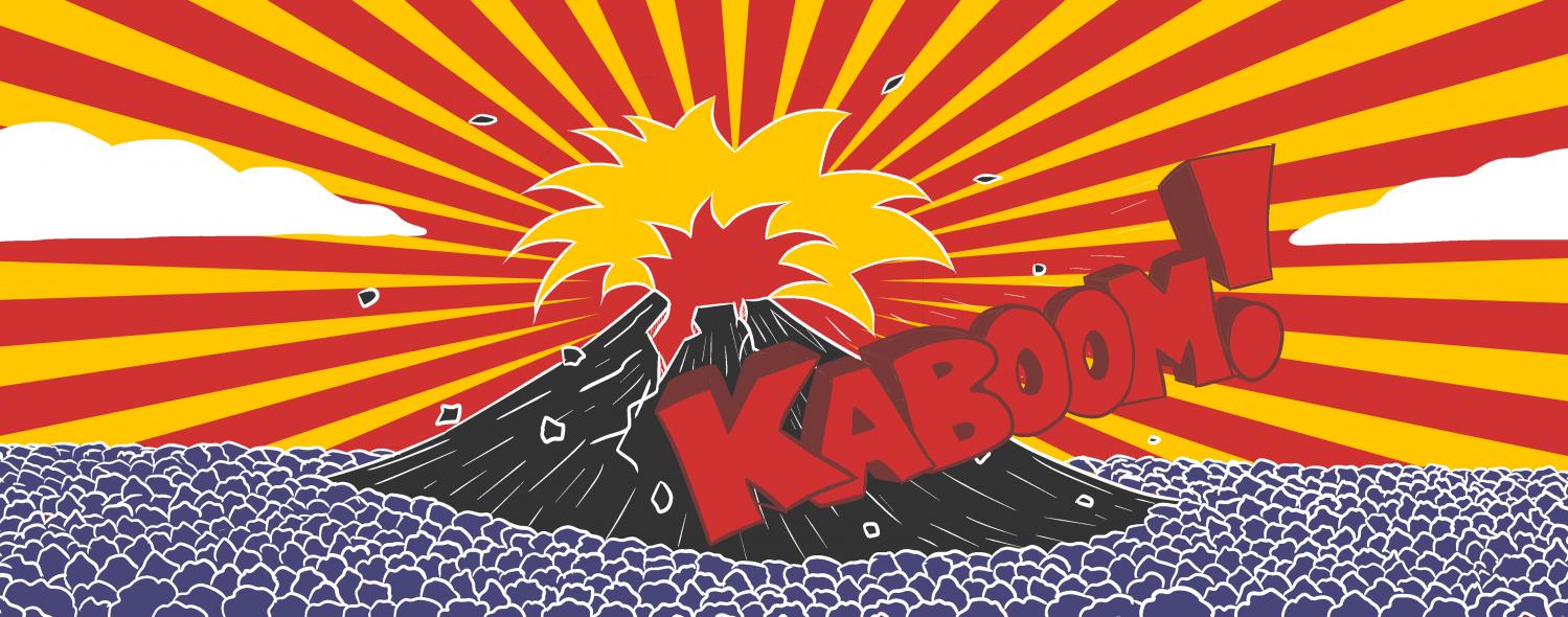 Volcanoes Top Trumps