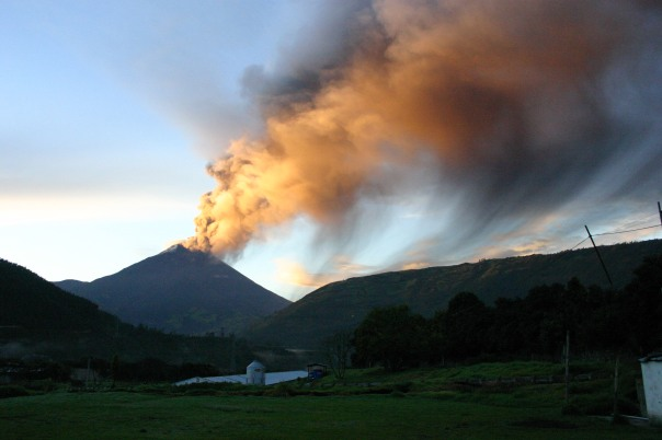 Photography of Tungurahua  in Ecuador by Patricio Ramon