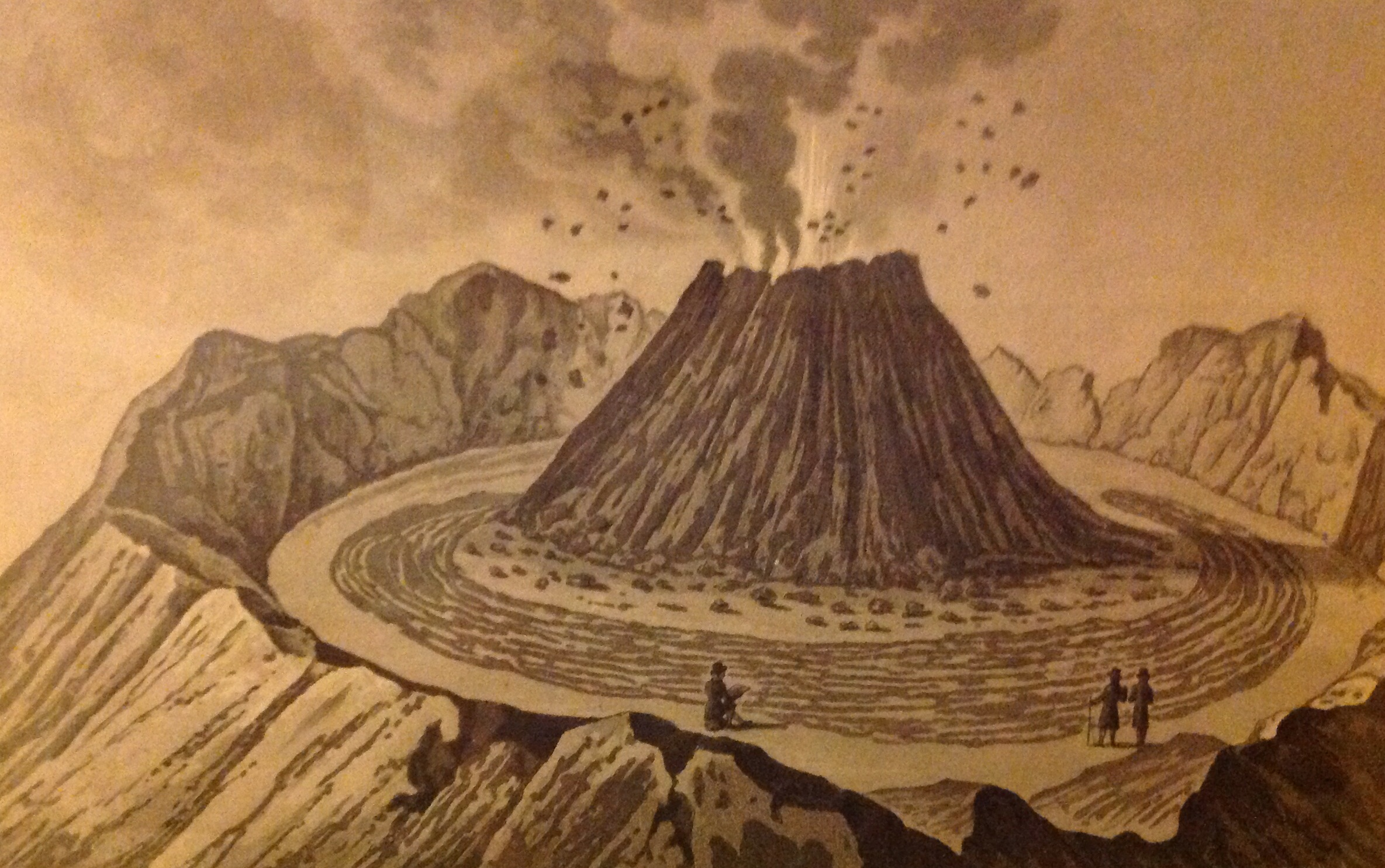 Vesuvius Volcano Eruption