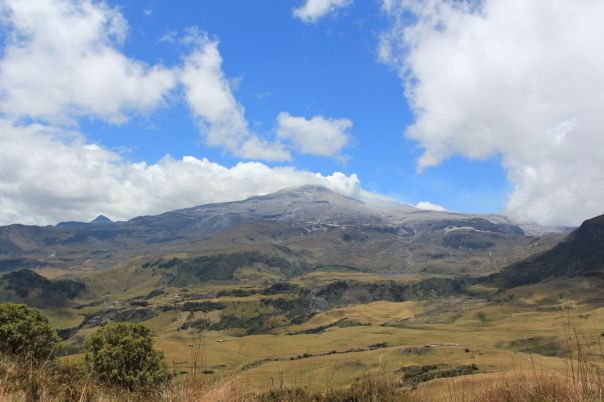 Nevado del Ruiz. Photo: Anna Hicks